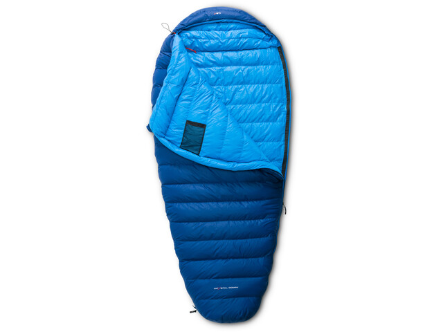 Y by Nordisk Tension Comfort 600 Sleeping Bag L royal blue/methyl blue